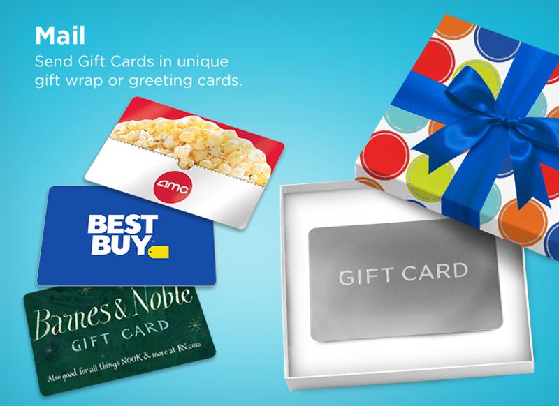Mail Gift Card Shop B2C